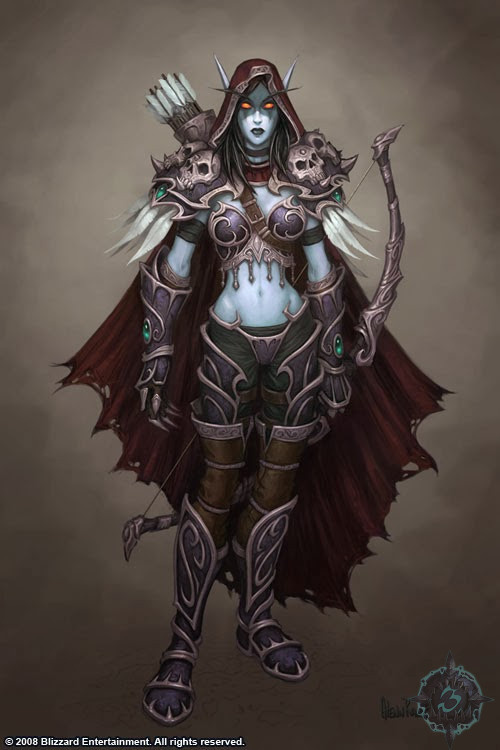 Sylvanas   World of WarCraft, WarCraft, wow, azeroth, lore