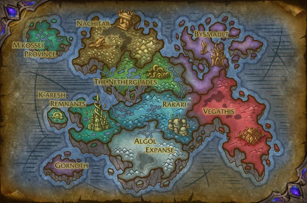 Dentro do Vazio | World of WarCraft, WarCraft, wow, azeroth, lore