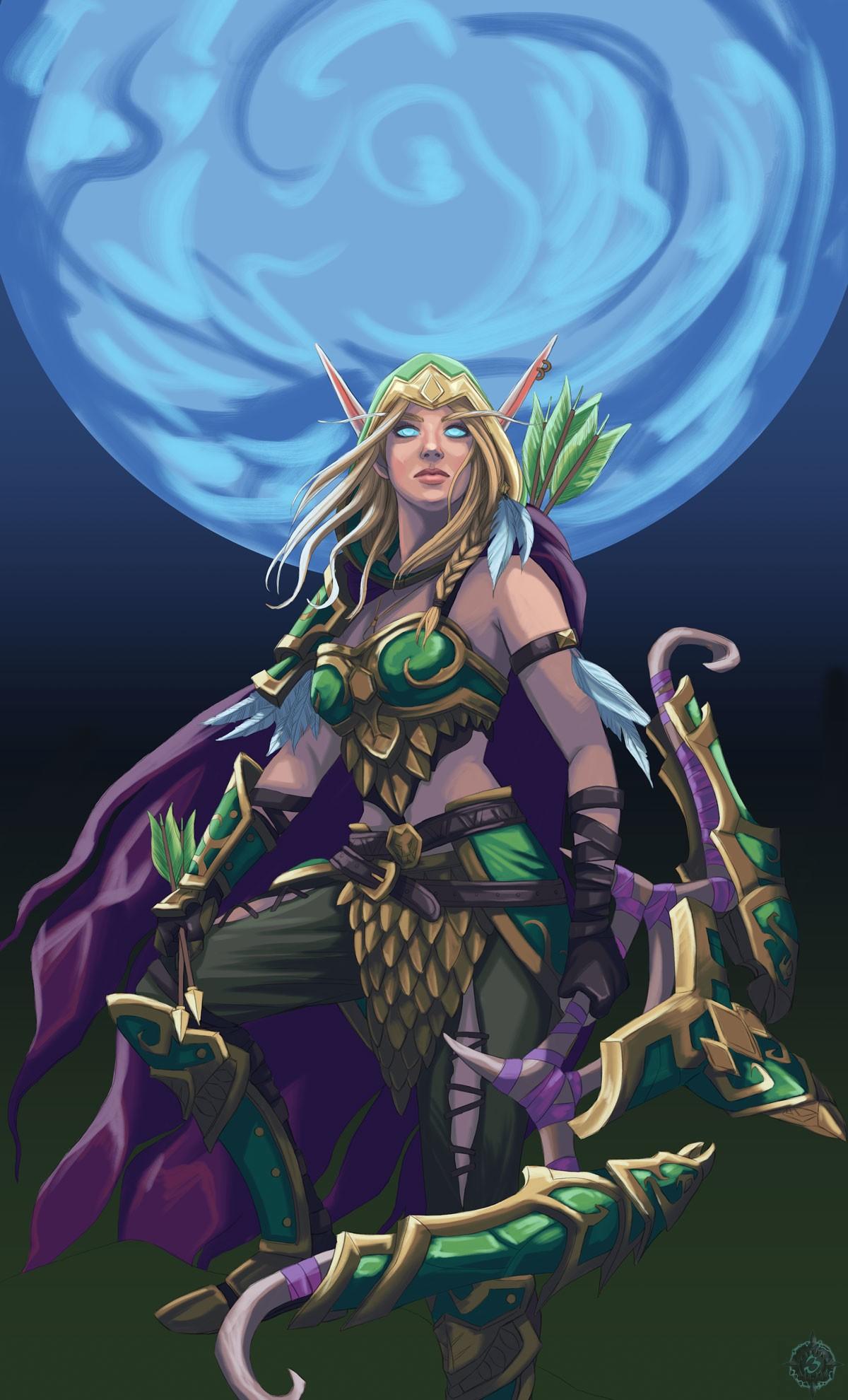 Alleria Correventos | World of WarCraft, WarCraft, wow, azeroth, lore