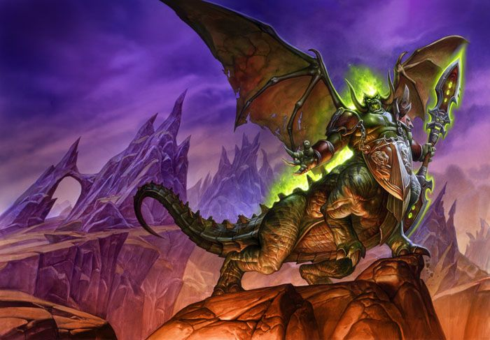 Magtheridon | World of WarCraft, WarCraft, wow, azeroth, lore