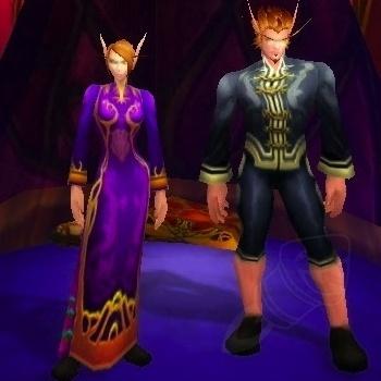 Vestido Festivo Roxo e Conjunto Festivo Preto | World of WarCraft, WarCraft, wow, azeroth, lore