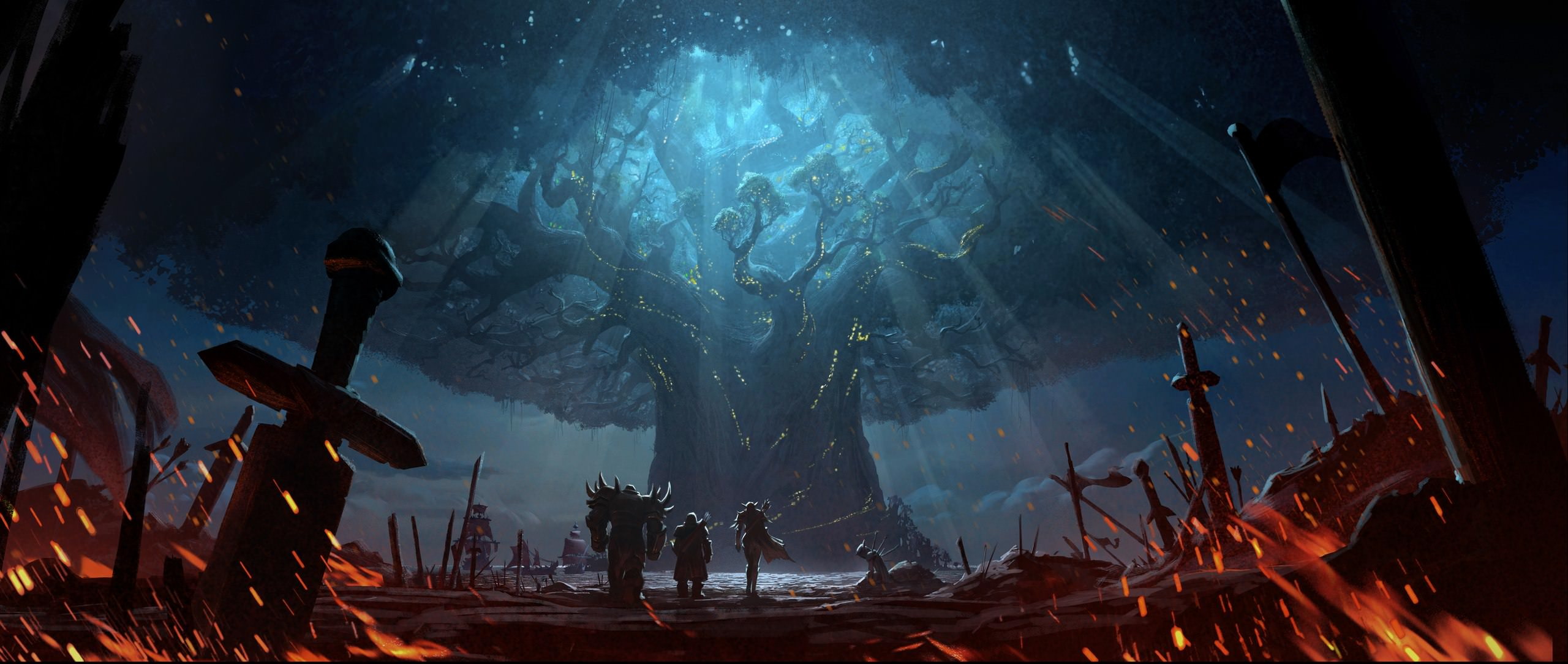 Teldrassil | World of WarCraft, WarCraft, wow, azeroth, lore
