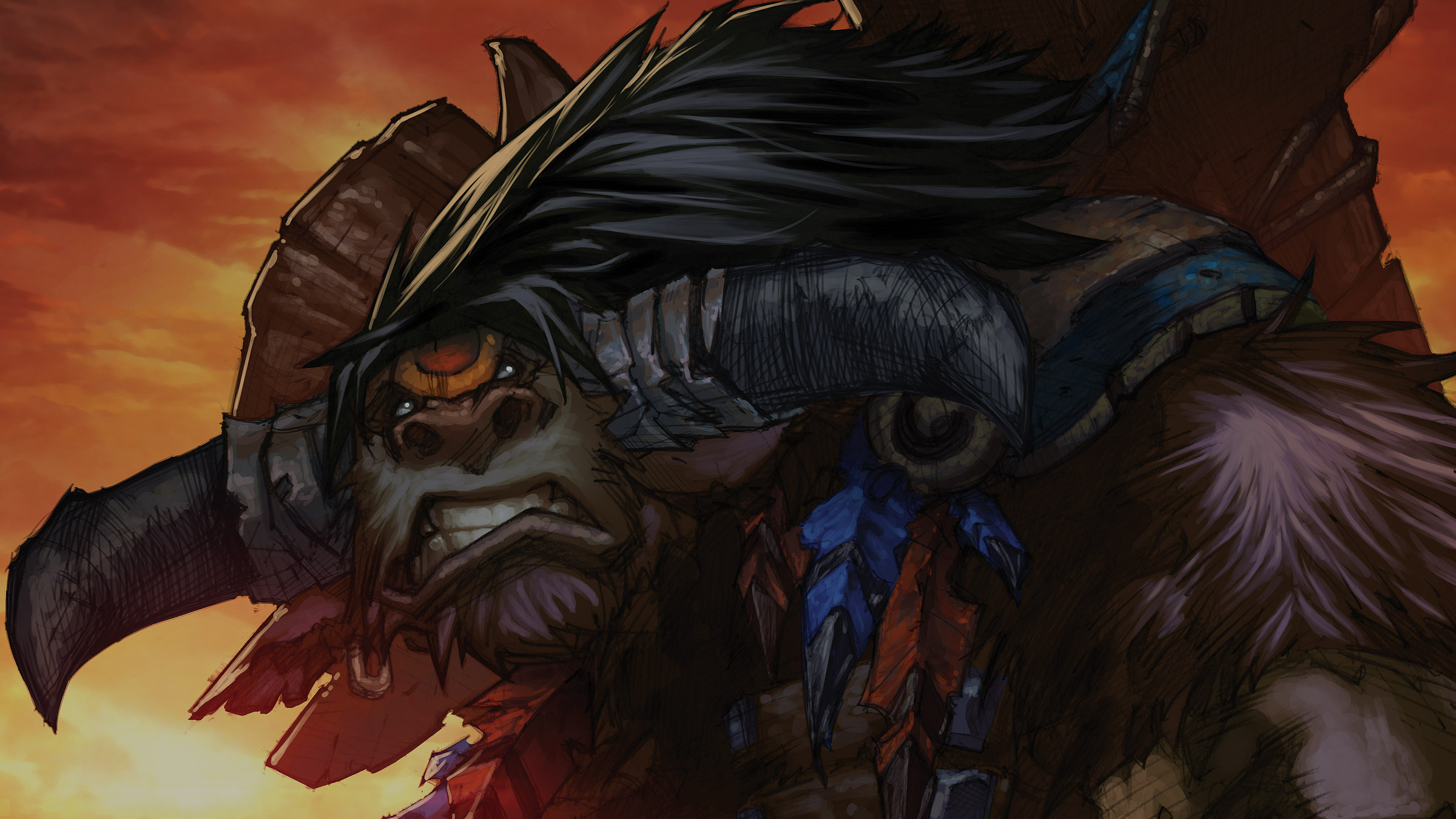 Baine Casco Sangrento - Como Nossos Pais   World of WarCraft, WarCraft, wow, azeroth, lore