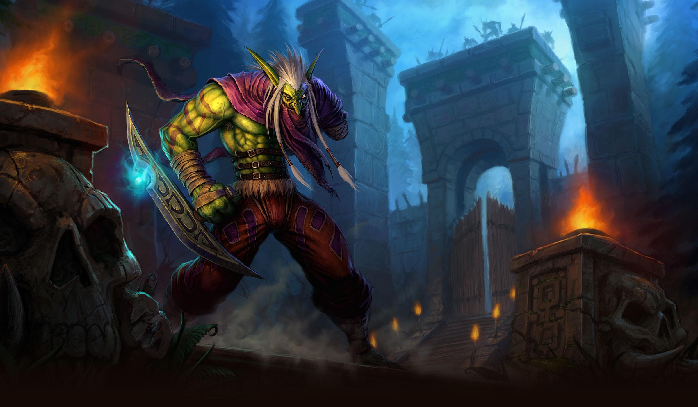 Os Deuses de Zul'Aman Patch 2.3 | World of WarCraft, WarCraft, wow, azeroth, lore